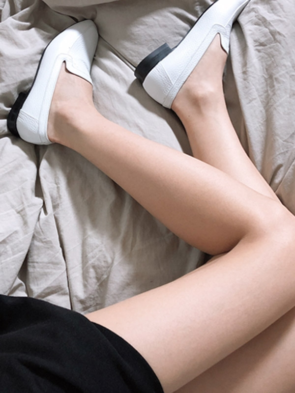 Timeless Loafers White