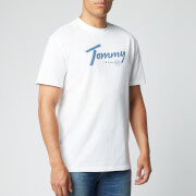 Tommy Jeans Men's Handwriting T-Shirt - White - S