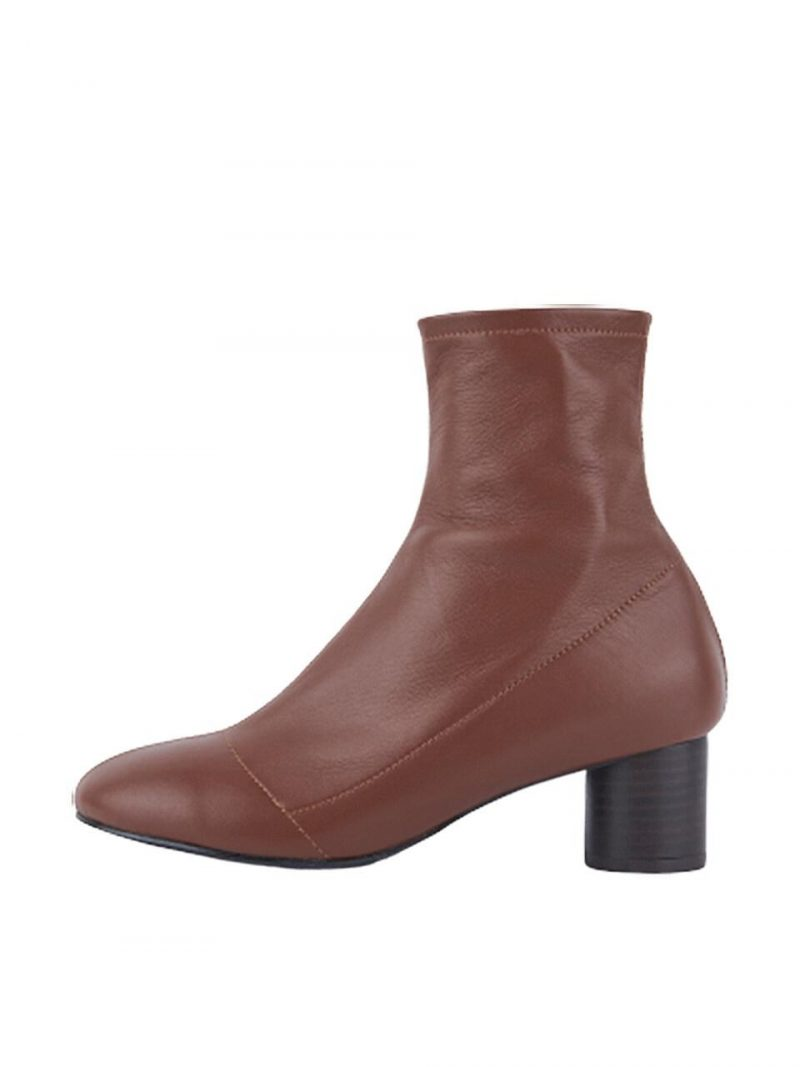 Tony Ankle Boots - Brown