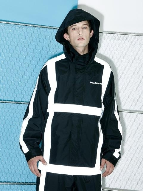 [UNISEX] Scatch Windbreaker BK