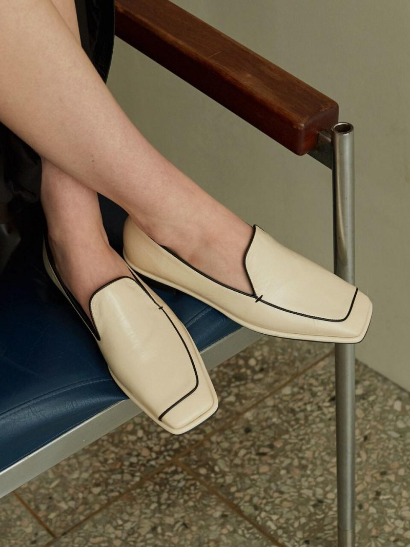Unbaline Loafers_Ivory