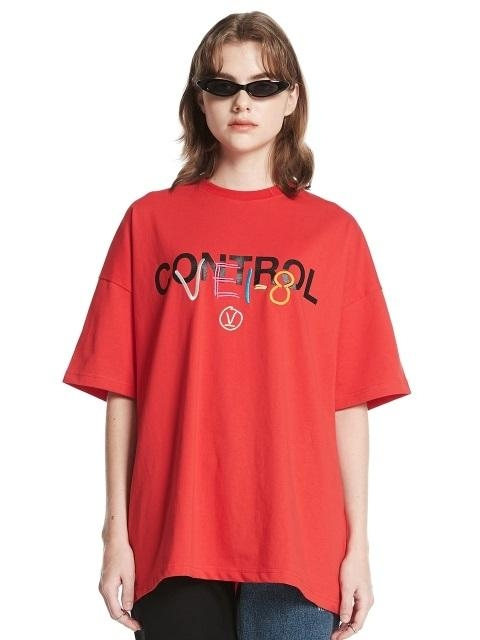 [Unisex] Logo T-shirt Red