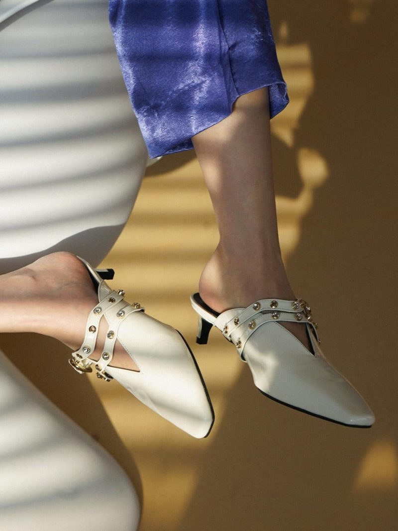 Wave Strap Mules