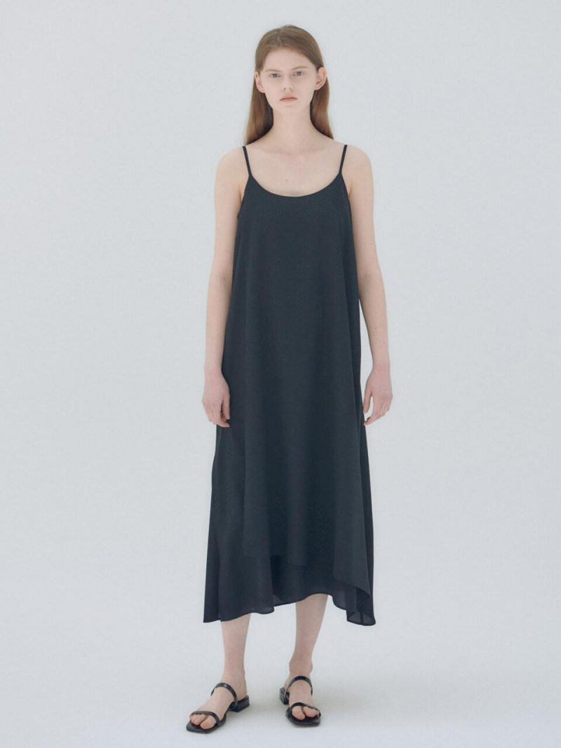 20N Summer Layered Full Dress Black