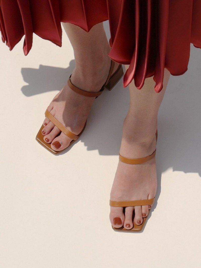 Cogito Sandals In Camel