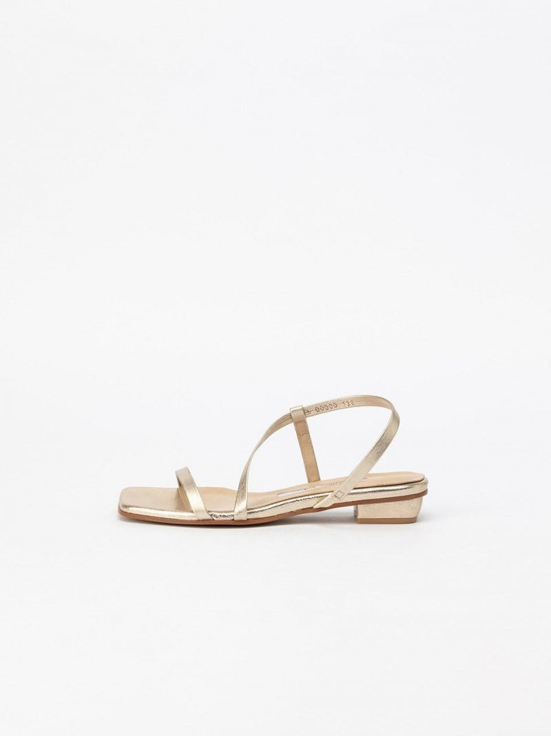 Lima Basic Sandals In Star Gold