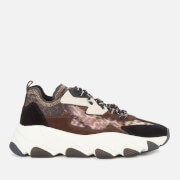 Ash Women's Eclipse Bis Chunky Running Style Trainers - Old Cheetah/Black - UK 3