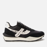 Ash Women's Spider Studs Sustainable Running Style Trainers - Black/Off White - UK 4