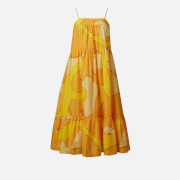 Simon Miller Women's Pumpa Abstract Summer Dress - Yellow - XS