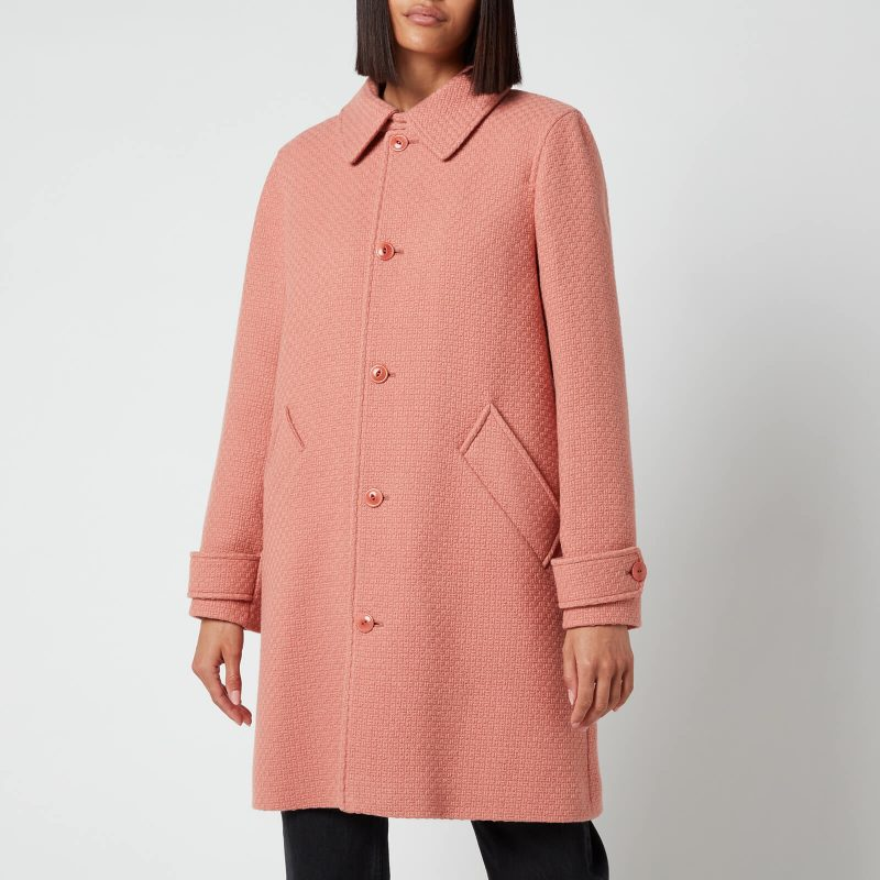 A.P.C. Women's Suzanne Coat - Old Pink - FR 40/UK 10