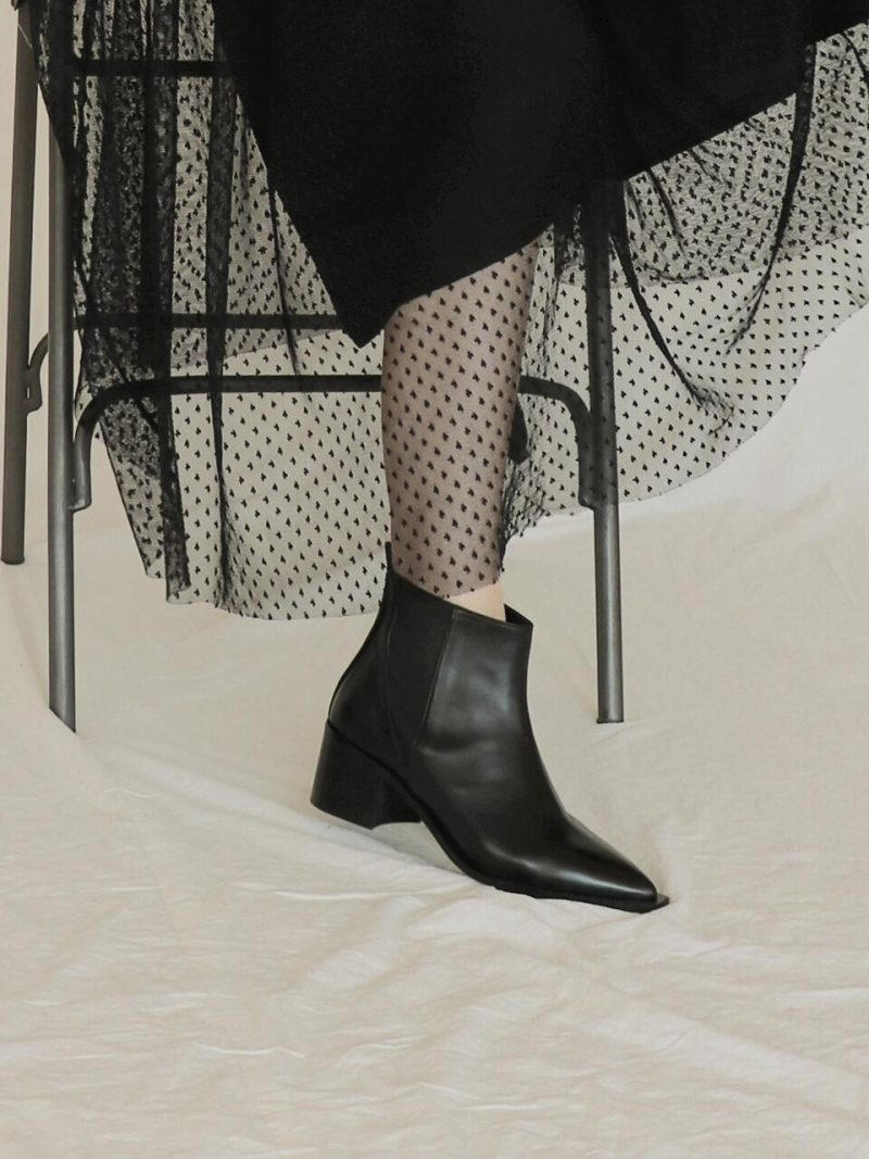 Band Chelsea Ankle Boots - Black