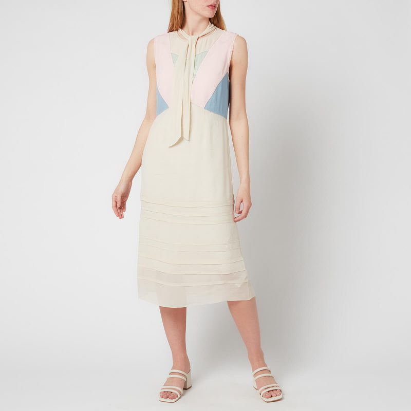 Coach Women's Paint By Numbers Dress - Pale Yellow - US 2/UK 6