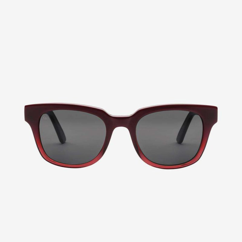 Electric 40 Five Sunglasses - Red Sea Frame - Grey Lens