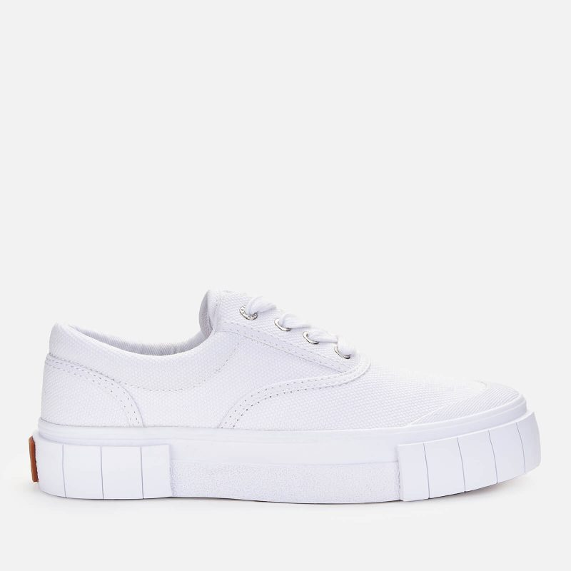Good News Women's Opal Low Top Trainers - White - UK 3