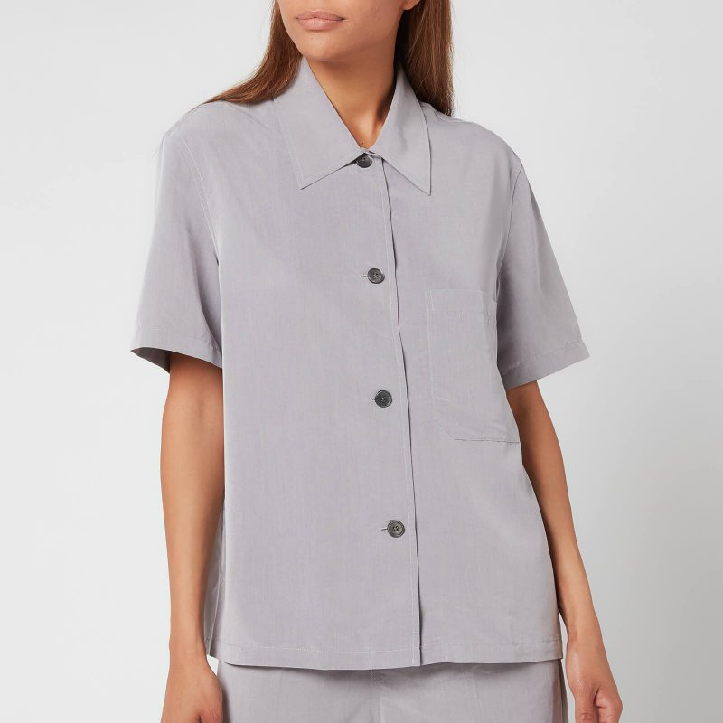 Our Legacy Women's Short Sleeve Square Shirt - Grey - FR 36/UK 8
