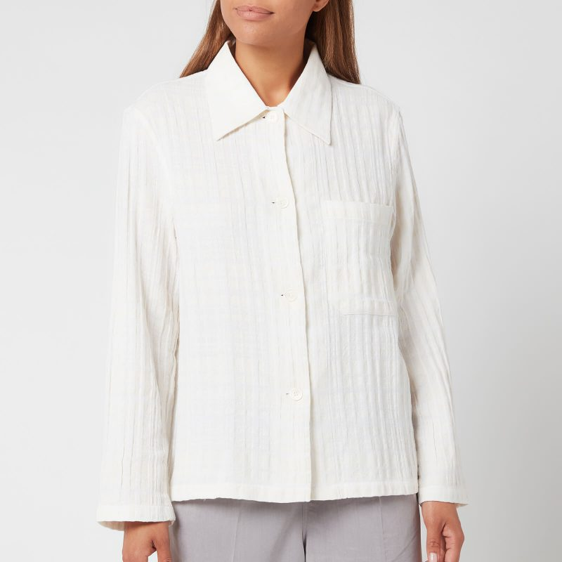 Our Legacy Women's Square Shirt - White - FR 34/UK 6