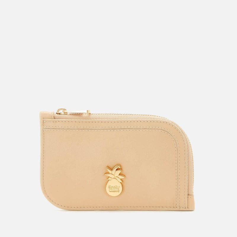See by Chloé Women's Pineapple Card Holder - Seed Brown