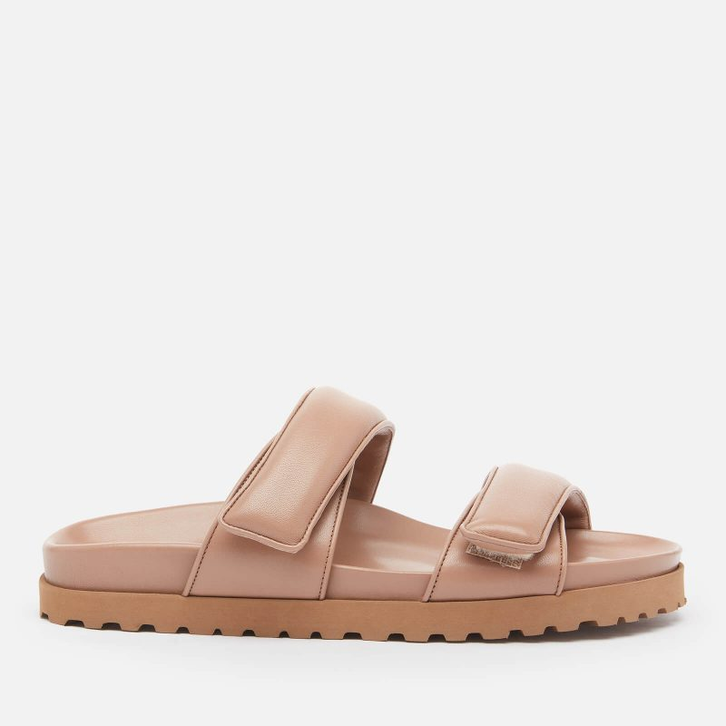 Gia Couture X Pernille Women's Perni 11 Leather Platform Sandals - Nude Brown - UK 3