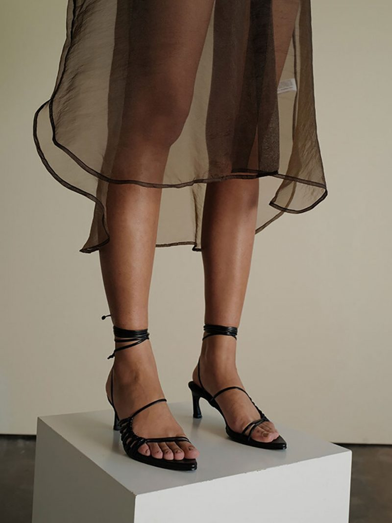 Knot Pointed Sandals