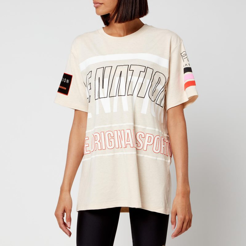 P.E Nation Women's Westbrook T-Shirt - Pearled Ivory - XS