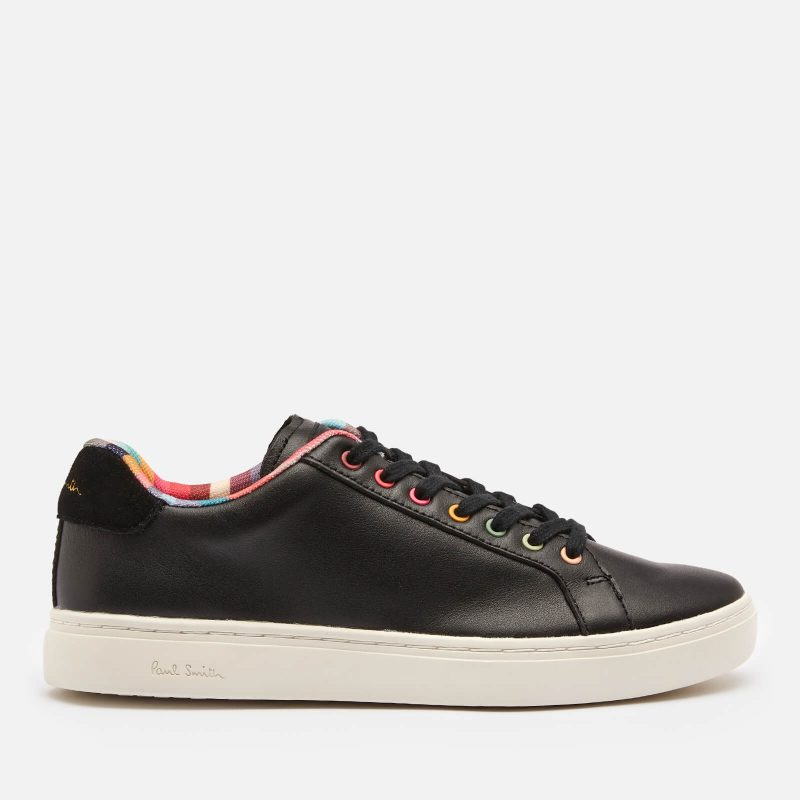 Paul Smith Women's Lapin Leather Cupsole Trainers - Black - UK 3