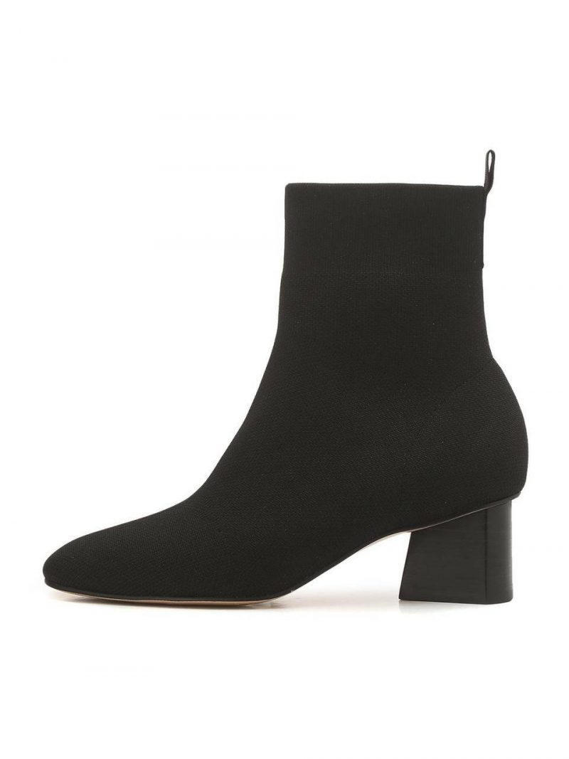 Black Casual Boots