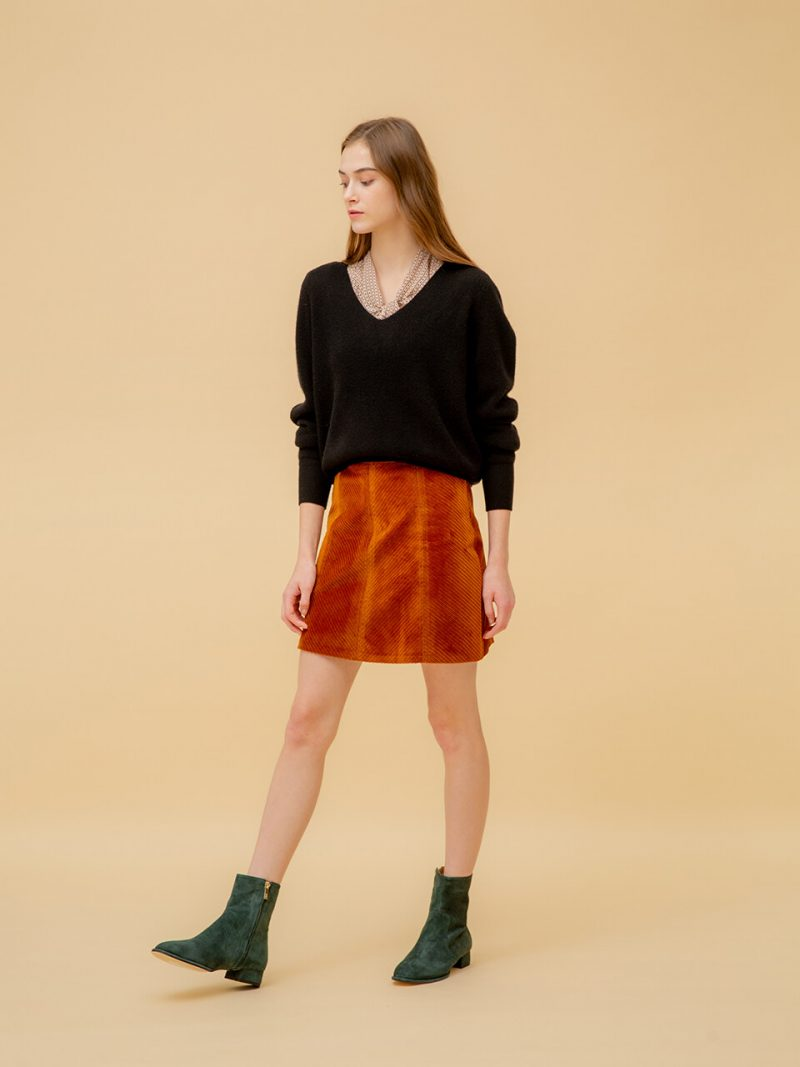 Green Suede Casual Boots