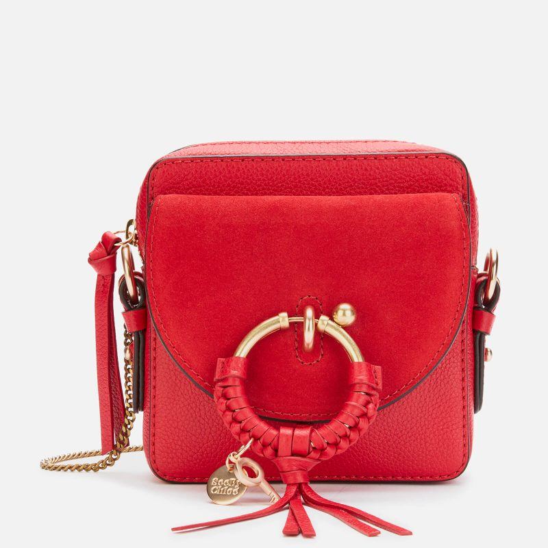 See by Chloé Women's Joan Camera Bag - Red Flame