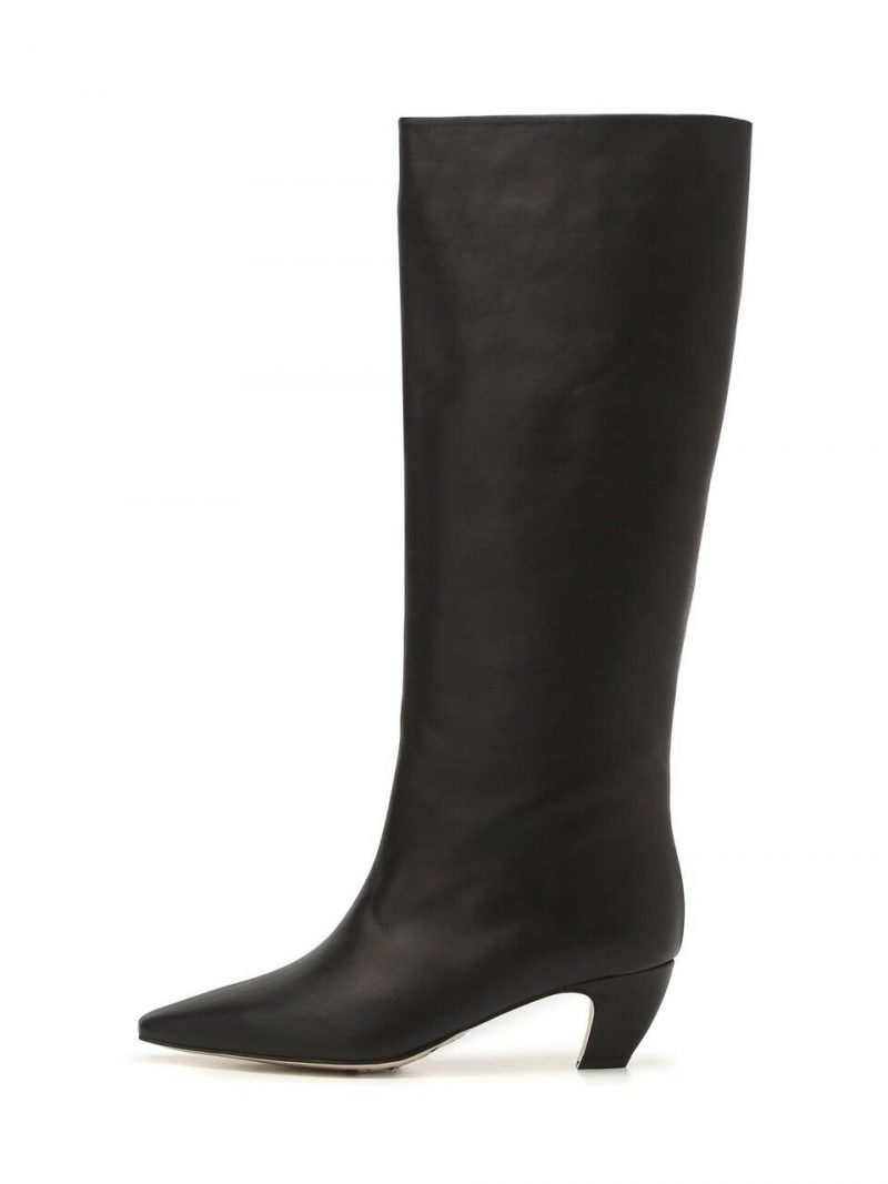 Seine Black Cow Leather Casual Boots