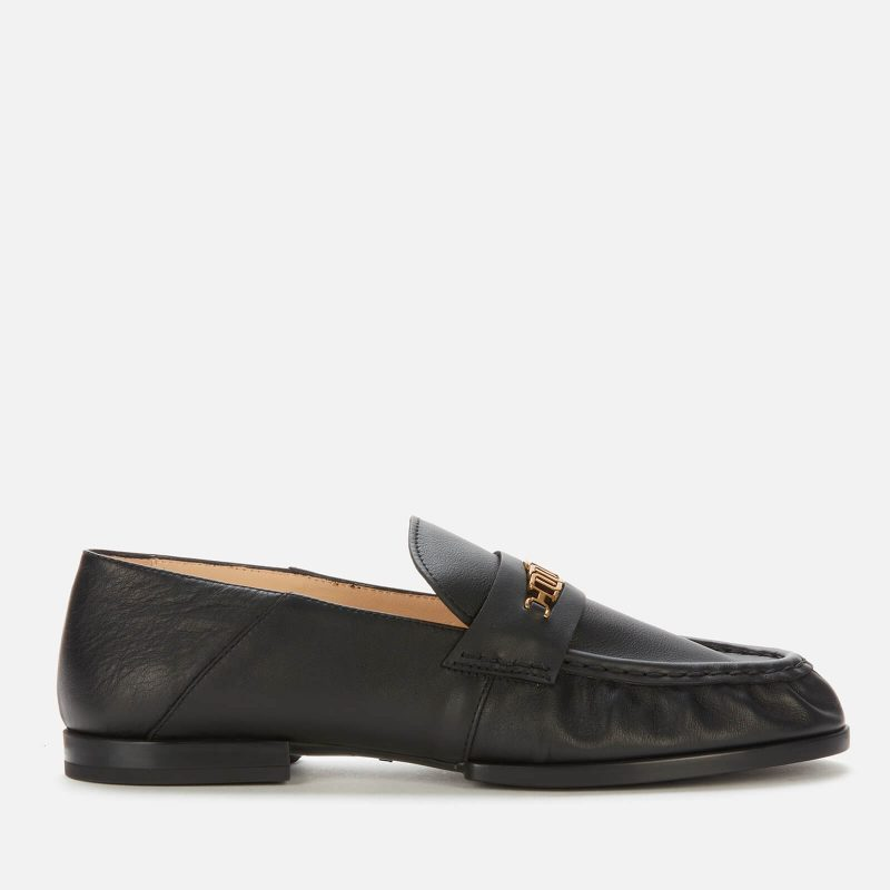 Tod's Women's Gomma Des Leather Loafers - Black - UK 5
